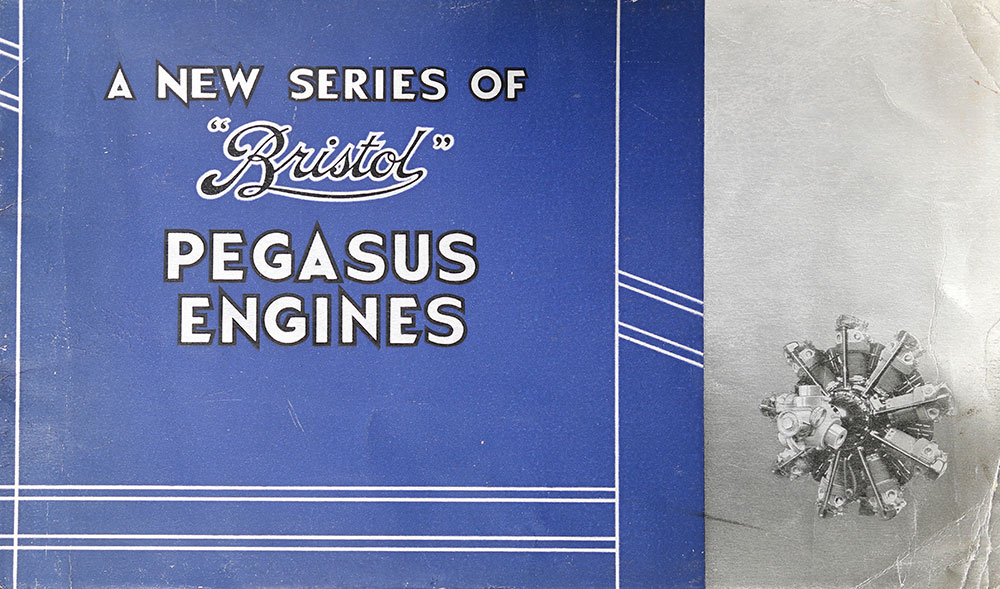 Bristol Pegasus engine brochure