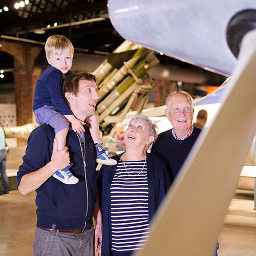 There's lots to see and do at Aerospace Bristol