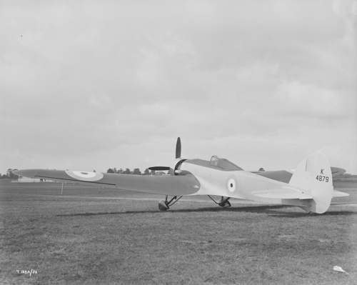 28 September 1936 - Squadron Leader F.R.D. Swain flew the Bristol Type 138A high altitude monoplane research aircraft to a world record altitude of 49,967 ft.Credit: BAE Systems