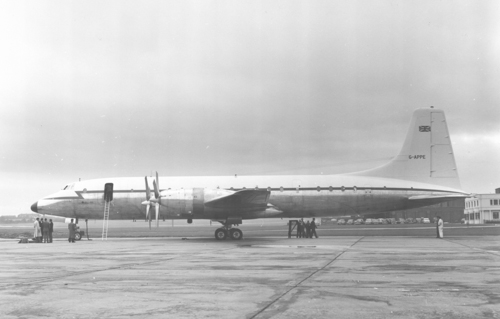 13 October 1959 - First flight of the military variant of the Britannia, the model 253, registered G-APPE.Credit: BAE Systems