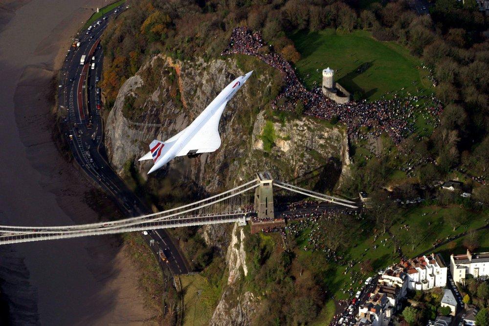 Concorde over Clifton