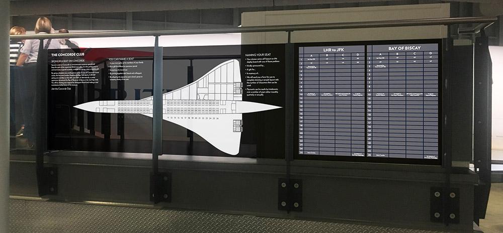 Concorde 'departure board'
