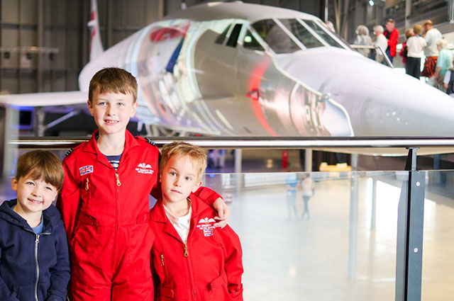 Get your Concorde selfie! - Step aboard Concorde Alpha Foxtrot, the last Concorde ever to fly. Enjoy a spectacular projection show telling the remarkable history of the world famous supersonic jet.And don't forget to take your Concorde selfie!