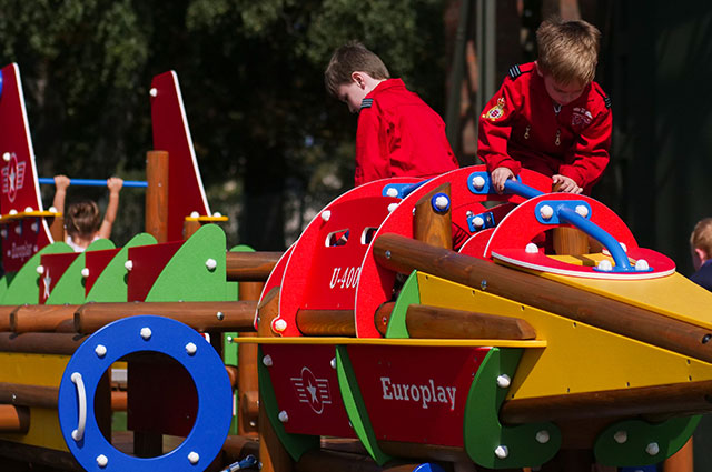Ready for boarding - Let your little engineers and future pilots' imaginations take flight in our brand new outdoor play and seating area.It's the perfect place to relax with an in-flight coffee when the sun is shining.