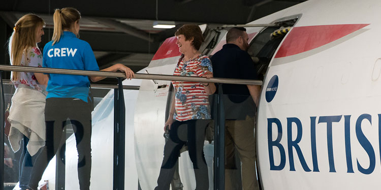 Take your group aboard Concorde