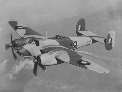 4 February 1943 & 1955 - First flight of Bristol Type 163 Buckingham prototype, a WW2 medium bomber for the RAF, powered by 2 Bristol Centaurus IV engines. By the time the Buckingham was in quantity production the need for a day bomber to share the work with the Mosquito had disappeared, and so the design was adapted for use in Transport Command as a high-speed courier (Buckingham C.1), carrying four passengers and a crew of three. It was flown by RAF Transport Command Development Unit.On 4 February 1955, the first flight of production Avro Vulcan B.1 took place using Bristol Olympus 101 engines.Credit: BAE Systems