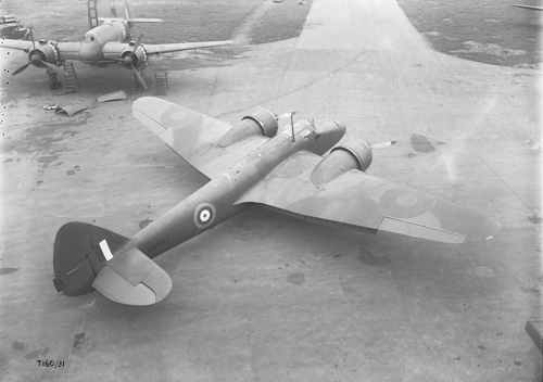 24 February 1941 - The first Bristol Blenheim Mk V (Type 160) made its first flight at Filton. Deliveries to No. 18 Sqn at RAF Marham began in Summer 1942.Credit: BAE Systems
