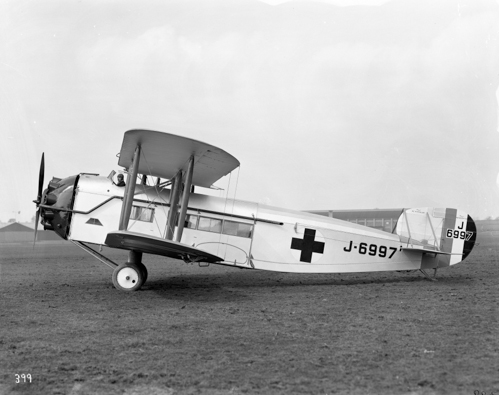 19 March 1924 - On 19 March 1924 the Bristol Brandon (Type 79) incorporating the revolutionary Frise ailerons first flew. It was delivered to the RAF as the first aircraft specifically designed as an air ambulance and operated from RAF Halton.Credit: BAE Systems