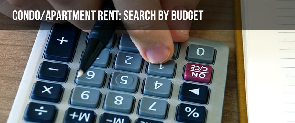 Search Condo By Budget