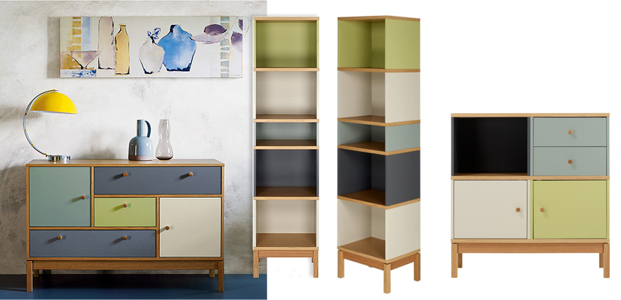 Abbey Wood pieces - styling and photography John Lewis, UK