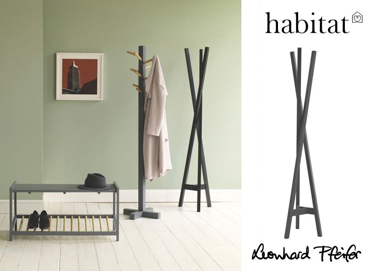 Clint Black Coat Stand - available from Habitat UK