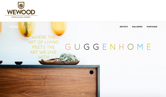 Guggenhome - Where the art of living meets the art we live with.