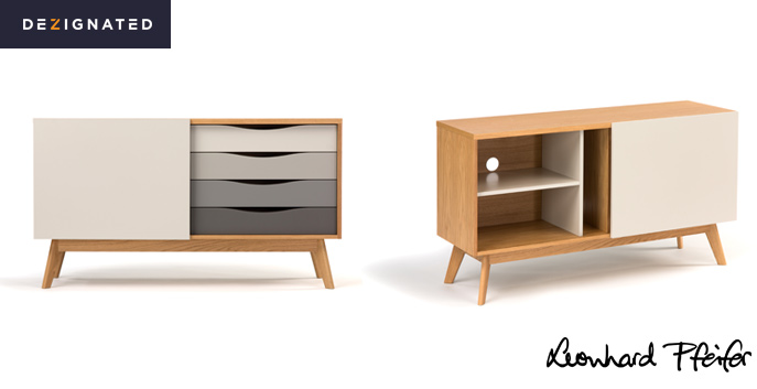Avon sideboard, designed by Leonhard Pfeifer