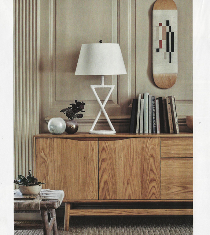 Detail of our Haven sideboard (aka Havvej) available  online and instore from Lombok