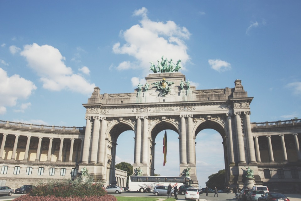 The Arc du Cinquantenaire