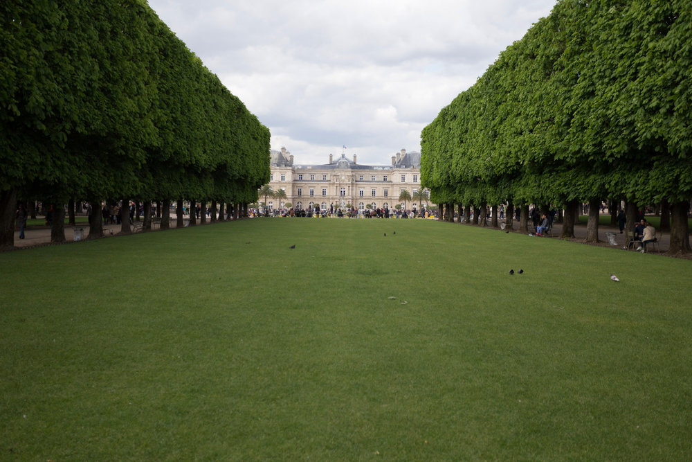 Gardens of Luxembourg Chateau