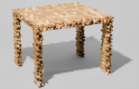 Interlaced side table