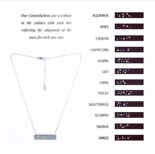 GS CONSTELLATION DESIGN ARE BACK #limitedstockonly #graceandscarperoriginaldesign #constellation #zodiac #specialgift #handmadejewellery #love #friendship #family #fashionpost #fashion