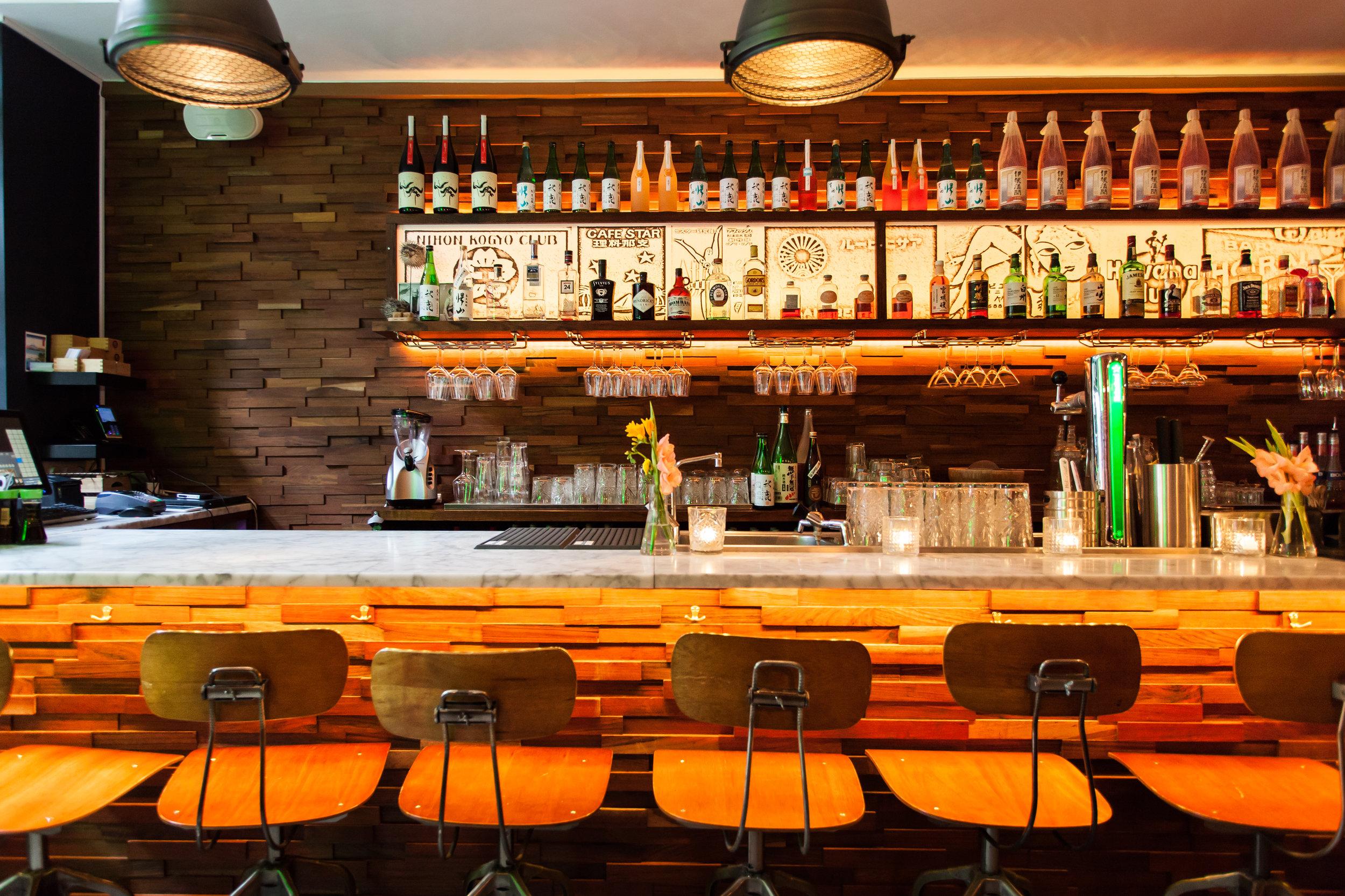 ku kitchen bar sushibar cocktailbar amsterdam