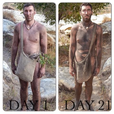 Jeff Zausch lost 31 pounds in 21 days while in madagascar #nakedandafraid