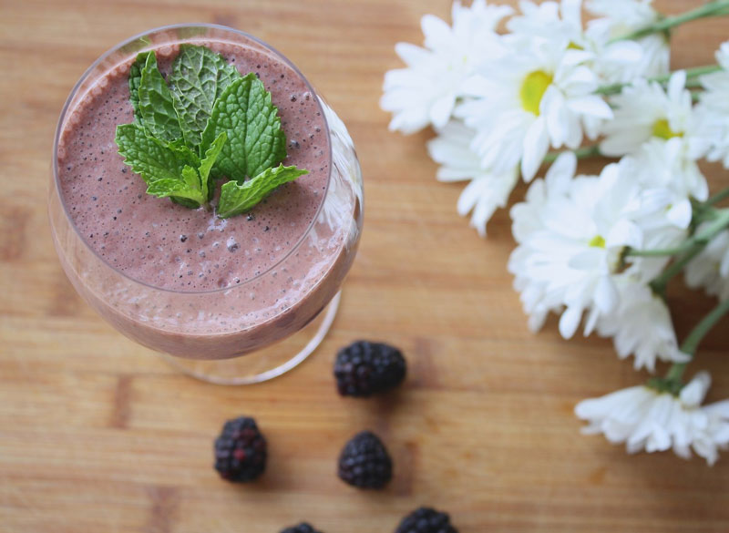 SMOOTHIES ARE A GREAT WAY TO EASE BACK INTO EATING SOLID FOODS
