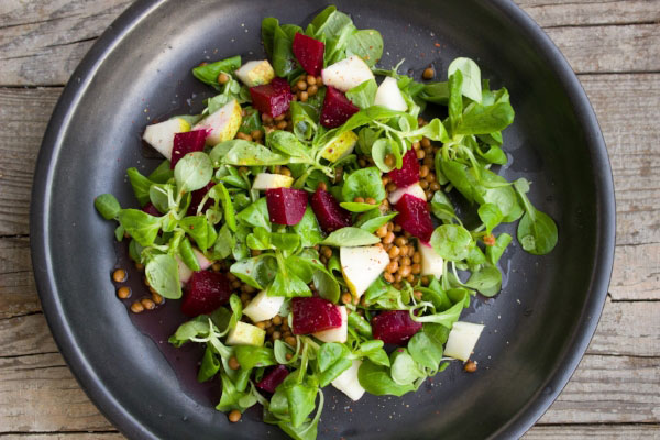 EAT SALADS TO CONTINUE THE RAW FOOD YOUR BODY HAS GOTTEN USED TO