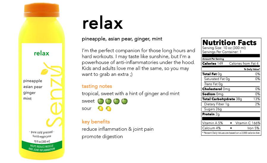relax juice