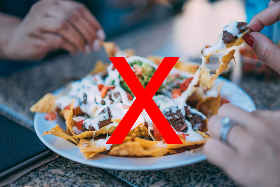 nachos have lots of food groups so they are good for you.. /S