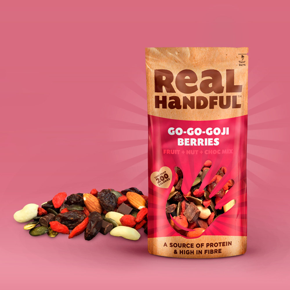 Real Handful    THE START OF A SNACKING REVOLUTION   VIEW