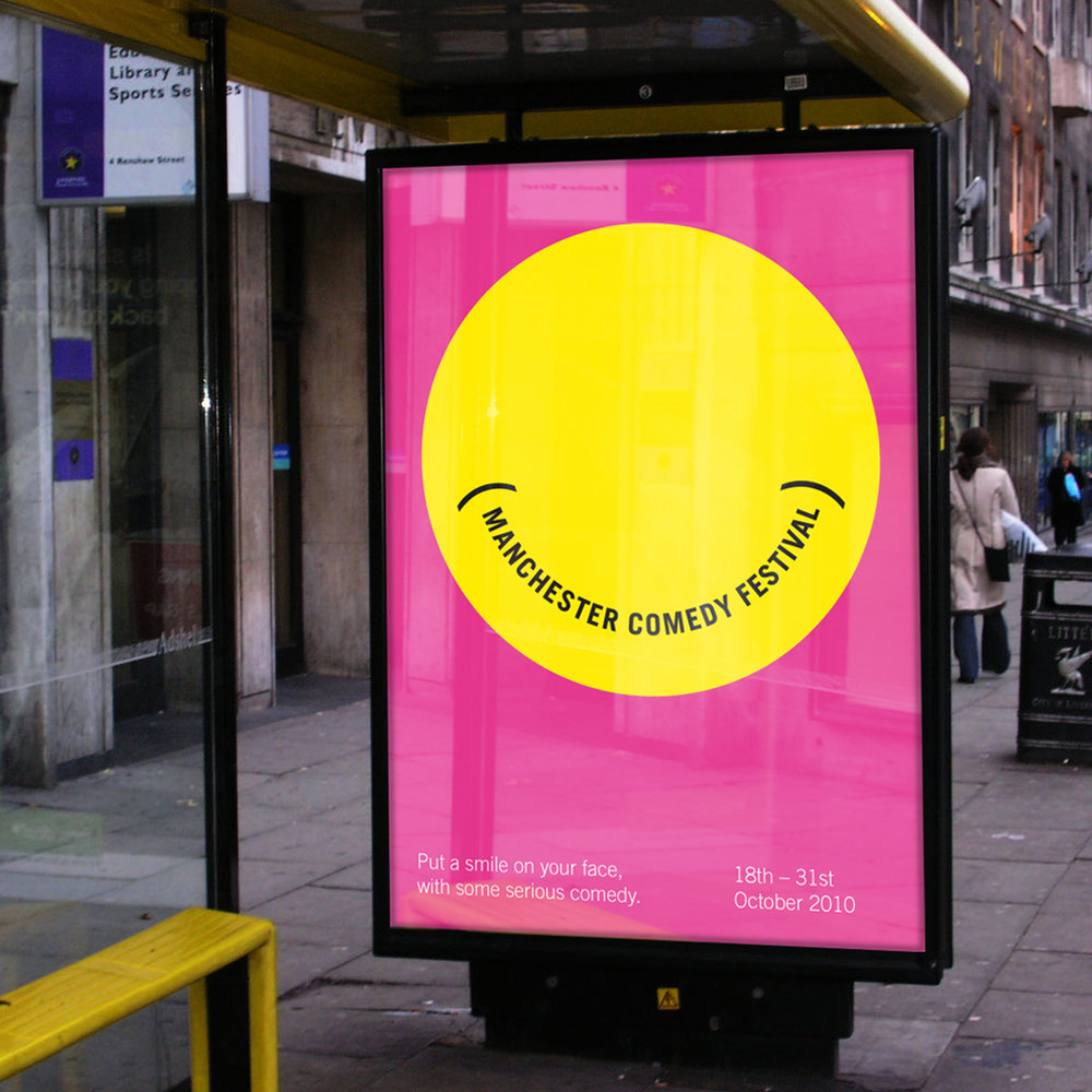 Manchester Comedy Festival ENCOURAGING A CITY TO SMILE VIEW