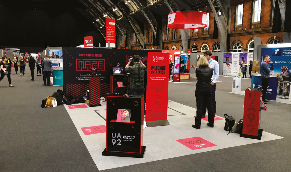 Experiential & VR - Looking to create an experience your audience is unlikely to forget? From stand design and build, to campaign themes and virtual reality; our audience-first approach means you'll fully engage customers with your brand and give them experience they'll want to talk about.