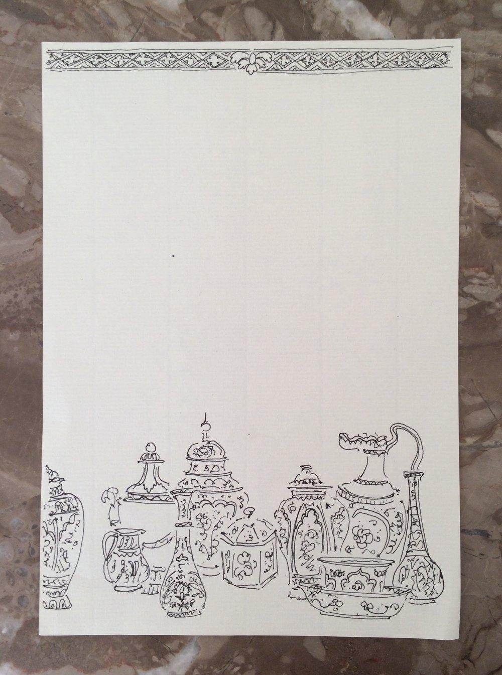2017  Pen on paper