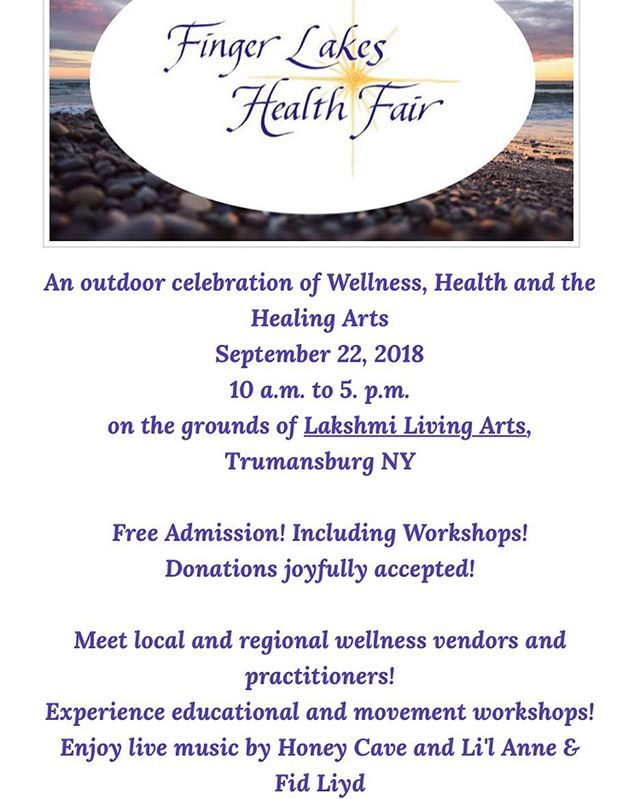 We'll be at this sweet event tomorrow with some hot soups, miso noodle bowls, salad and peanut lime noodles — not to mention some tasty desserts and beverages. Come visit us in Trumansburg — or at the Ithaca Farmers Market as usual!