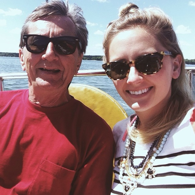 Summer Friday sail with #dad #summerfridays #cascobay (at Casco Bay)