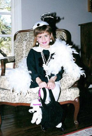 Lillian has always been fancy.