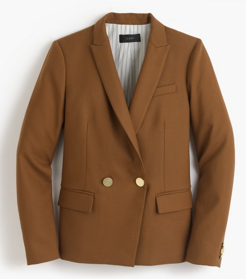 DOVER BLAZER in belgian chocolate