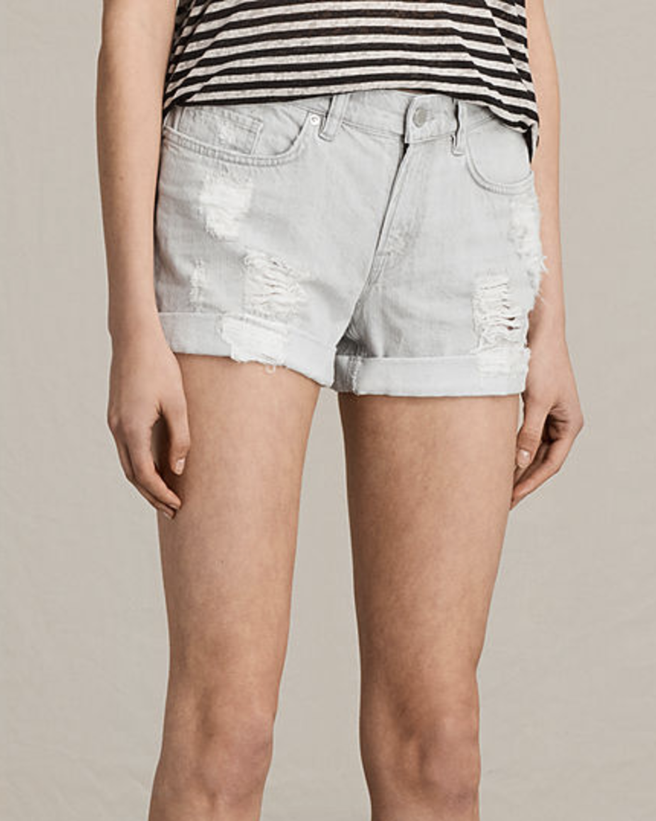 PAM DENIM SHORTS by ALL SAINTS $125