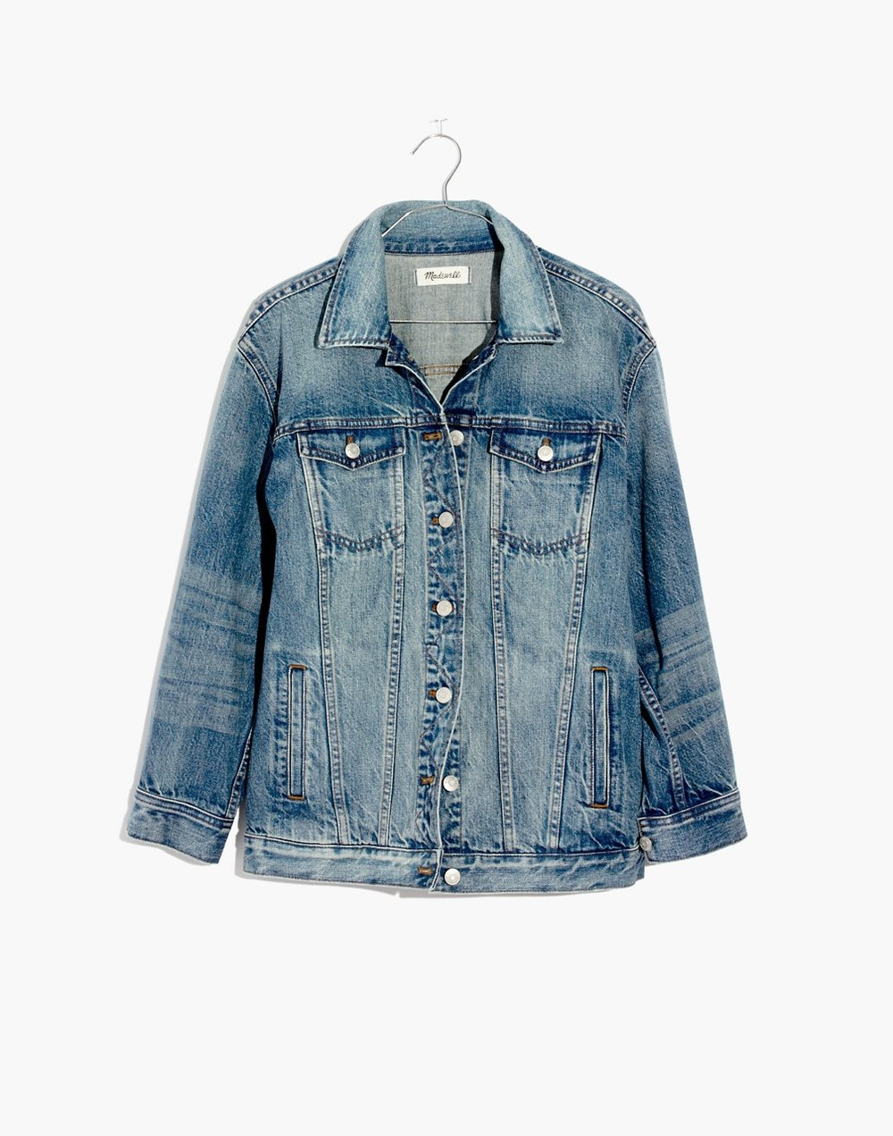 THE OVERSIZED JEAN JACKET IN CAPSTONE WASH $128