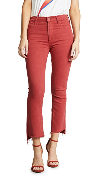 The Insider Crop Step Fray Jeans $208