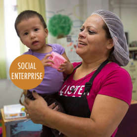 SOCIAL ENTERPRISE Serving the common good