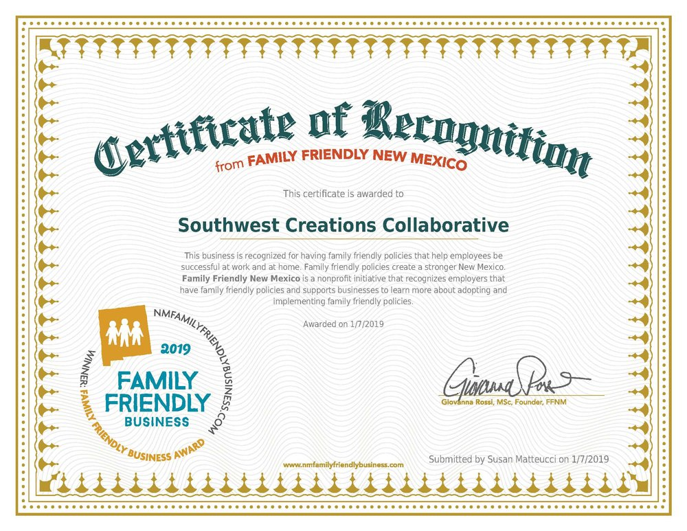 19NMFFBAward-Gold-Southwest Creations Collaborative-01_07_2019.jpg