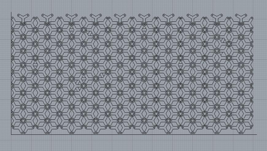 Honeycomb Triangles Rhino file