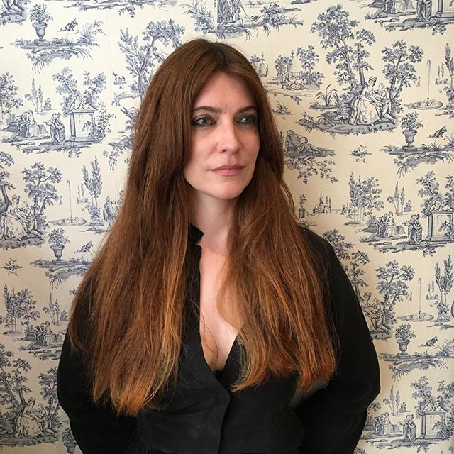Aislinn cut by Laura. #longhair #longbangs #brunette #mermaid #boudicca #beauty #irishgoddess  #wallpaper #london #soho #vivasoho