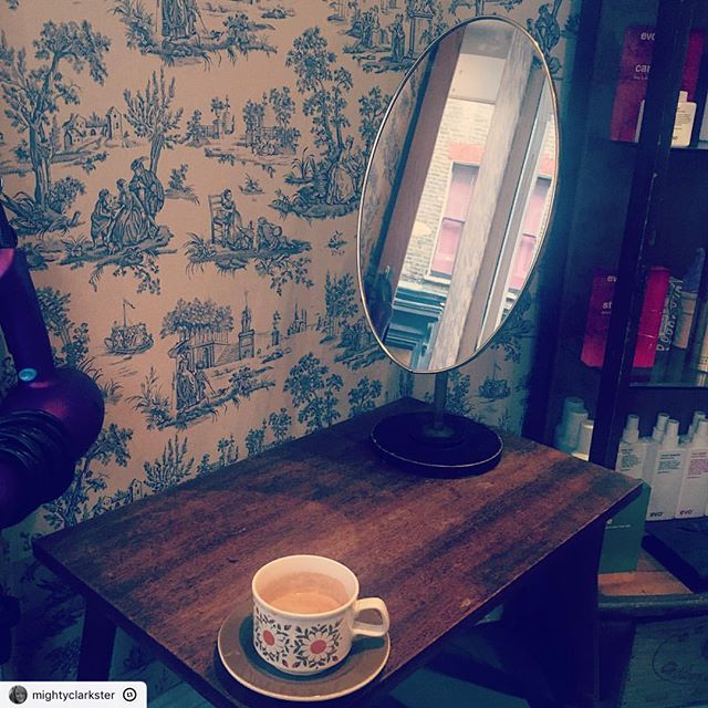 "This post was reposted using @the.instasave.app  #theinstasaveapp ・・・ ""Some much needed r&r plus caffeine @vivasoho @paulamccash #hairstyles #haircolor #hair #haircut #coffee #metime"""