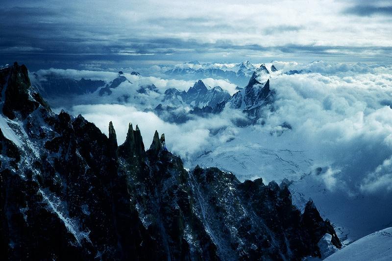 Les Aiguilles du Diable, Mt Blanc Massif, France