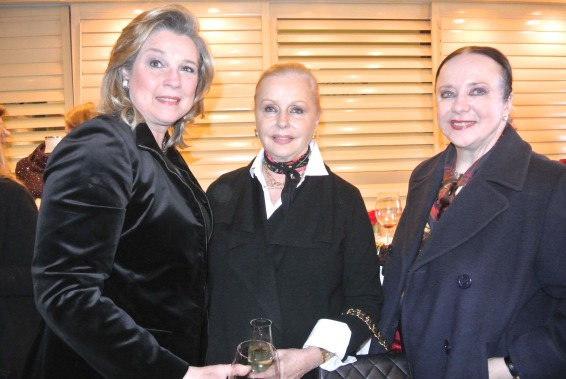 Interior designer, Ann Kenkel, with Judy Esfandiary and Monica Greenberg