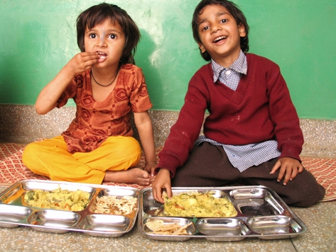 Image courtesy of Food For Life School in India