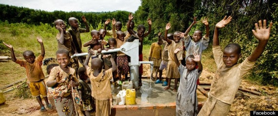charity:water via Huffington Post