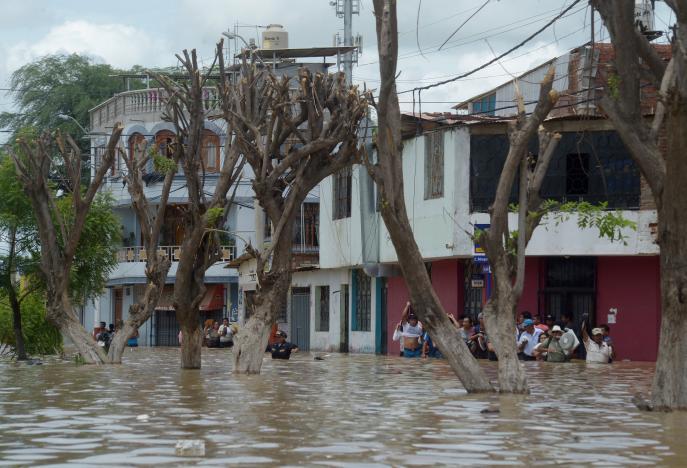 Piura, Peru, March 27, 2017. REUTERS/Miguel Arreategui