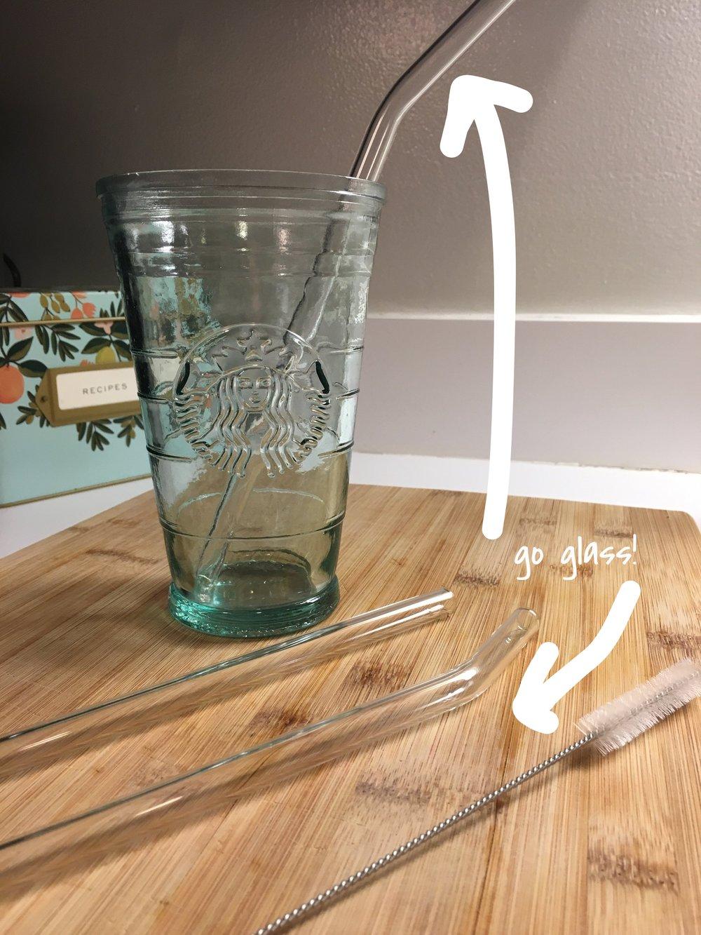 Glass > Plastic
